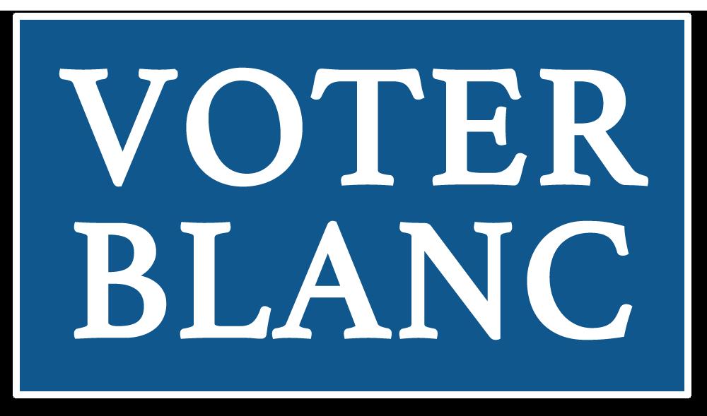 Vote blanc logo